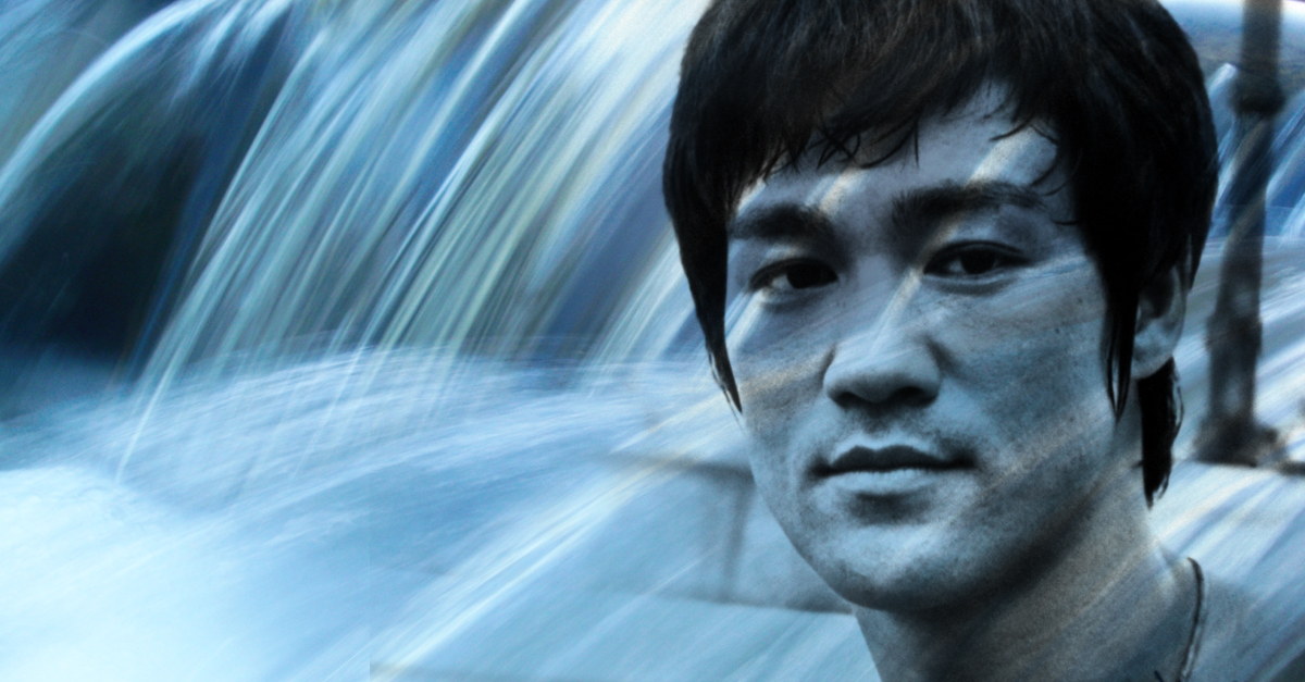 bruce lee be like water